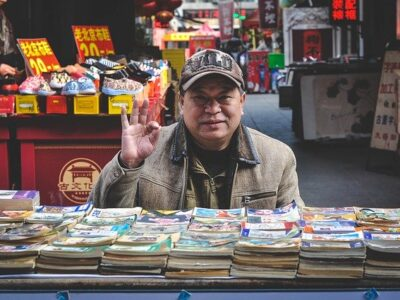 Asian Market Seller Vendor  - TravelCoffeeBook / Pixabay