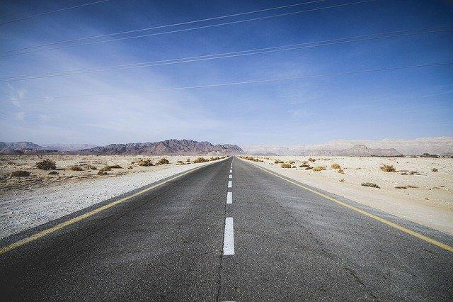 Israel Road Goal Asphalt Landscape - mefiblogger / Pixabay