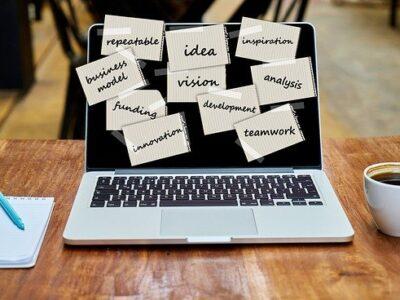 Laptop Startup Vision Innovation  - geralt / Pixabay