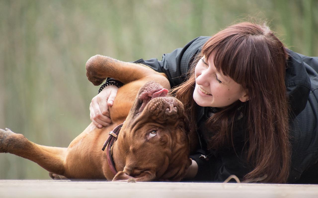 Girl Laugh Human Woman Dog Animal - Freepics4you / Pixabay