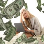 Woman Laptop Money Income Dollars  - Tumisu / Pixabay