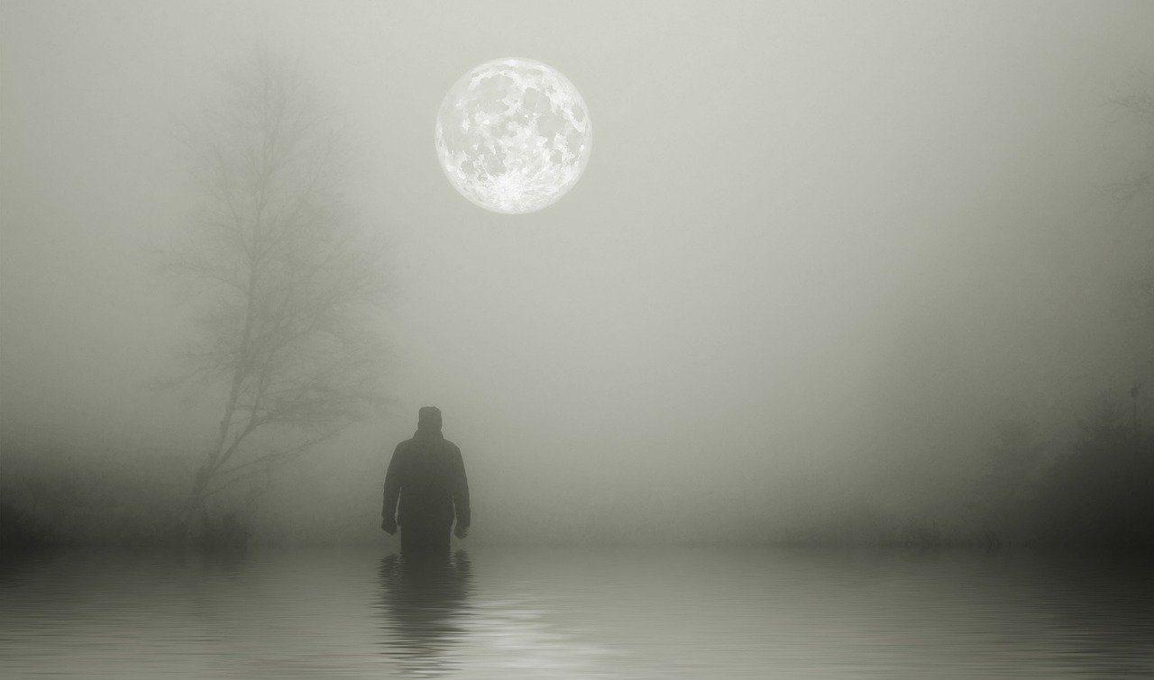Lonely Man Lake Alone Sad Water - susan-lu4esm / Pixabay