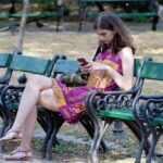 Girl Young Woman Care Bench Park  - Candid_Shots / Pixabay